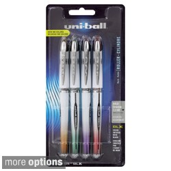 Uni-ball Vision Elite BLX Series Stick Roller Ball Pens (Pack of 4)
