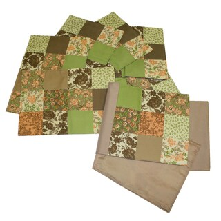 Patchwork Placemat (Set of 6) and Table Runner Set - Multi