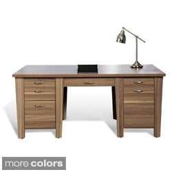 Jesper Office 900 71inch Desk with Drawers Free Shipping Today