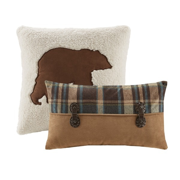 Shop Woolrich Hadley Plaid Decorative Pillows Collection Free Cool Overstock Decorative Pillows