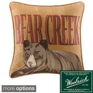 Throw Pillow Options : Woolrich Bear Creek Decorative Pillow Collection - Multiple Options - Free Shipping On Orders ...