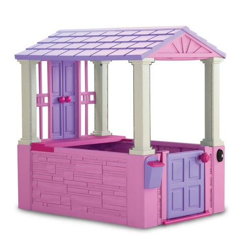 American Plastic Toys Pink Girl's Playhouse