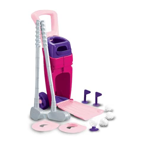 American Plastic Toys Junior Pro Golf Set, Pink