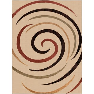 Artist's Loom Indoor Contemporary Geometric Rug (7'10 x 10'6)
