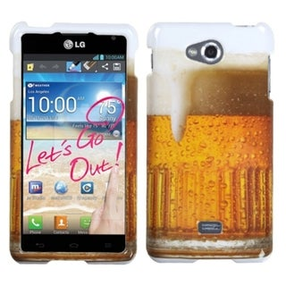 INSTEN Food Fight Collection Phone Case Cover for LG MS870 Spirit 4G