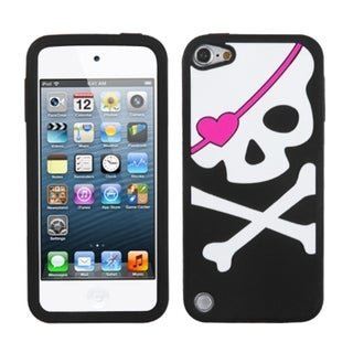 Insten Colorful Skull Hard Snap-on Rhinestone Bling Case Cover For Apple iPod Touch 5th/ 6th Gen