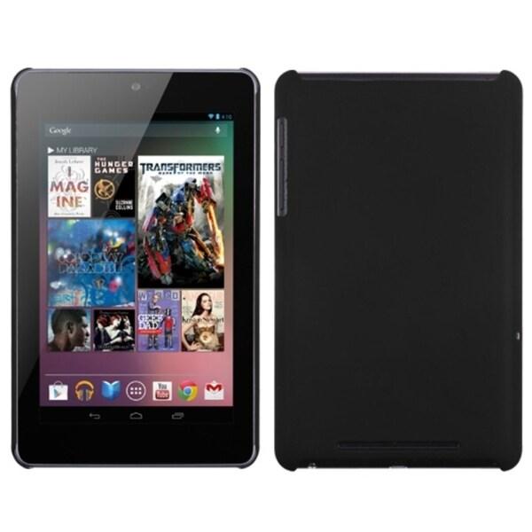 INSTEN Black Back Phone Case Cover for Google Nexus 7