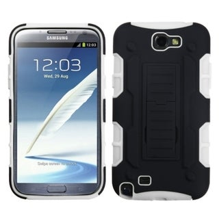 INSTEN Car Armor Stand Phone Case Cover for Samsung Galaxy Note II/ 2/ T889/ I605