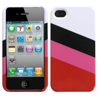 INSTEN MyColor Splash Phone Case Cover for Apple iPhone 4/ 4S