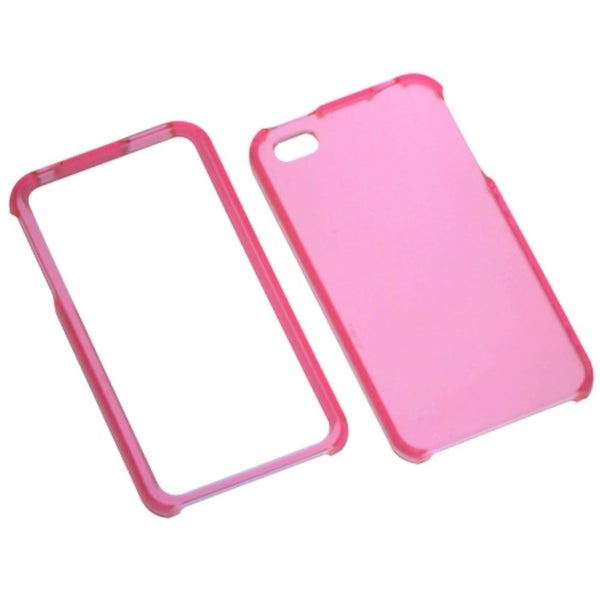 INSTEN Lizzo T-Pink Phone Case Cover for Apple iPhone 4/ 4S