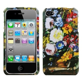 INSTEN Blumenstilleben Phone Case Cover for Apple iPhone 4/ 4S