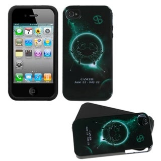 INSTEN Cancer Horoscope Collection Fusion Phone Case Cover for Apple iPhone 4/ 4S