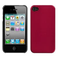 INSTEN Metallic Red Blend Phone Case Cover for Apple iPhone 4/ 4S