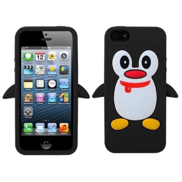BasAcc Black Penguin Pastel Skin Case For Apple® iPhone 5