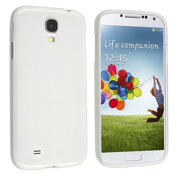 BasAcc Clear Jelly TPU Rubber Skin Case For Samsung Galaxy SIV/ S4