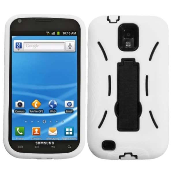 BasAcc Black/ White Symbiosis Stand Case For Samsung© T989 Galaxy S2