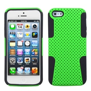 INSTEN Green/ Black Astronoot Phone Protector Phone Case for Apple iPhone 5/ 5S/ SE