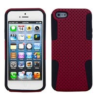INSTEN Red/ Black Astronoot Phone Protector Phone Case for Apple iPhone 5/ 5S/ 5C/ SE