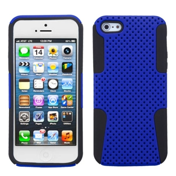 INSTEN Blue/ Black Astronoot Phone Protector Phone Case for Apple iPhone 5/ 5S/ 5C/ SE