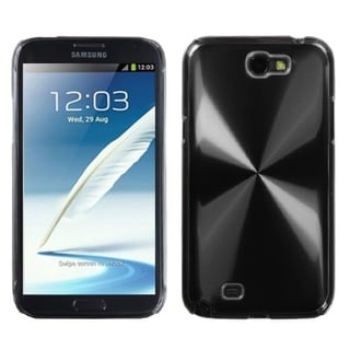 INSTEN Black Cosmo Back Protector Phone Case Cover for Samsung Galaxy Note II