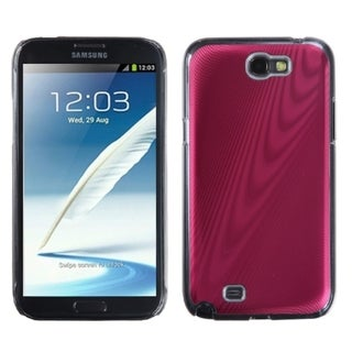 INSTEN Red Cosmo Back Protector Phone Case Cover for Samsung Galaxy Note II