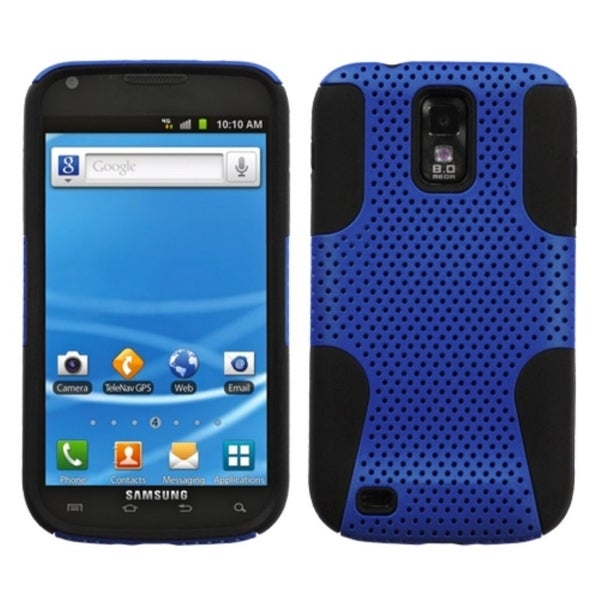 INSTEN Blue/ Black Astronoot Phone Case Cover for Samsung T989 Galaxy S II
