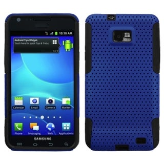 INSTEN Blue/ Black Astronoot Phone Case Cover for Samsung I777 Galaxy S II