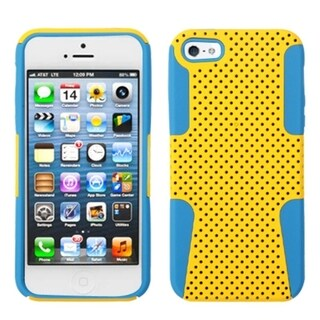 INSTEN Yellow/ Tropical Teal Astronoot Phone Case for Apple iPhone 5/ 5S/ SE