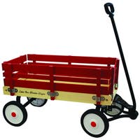 Little Box 34-inch Wooden Wagon