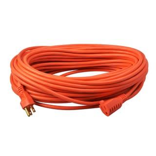100' SJTW Orange Extension Cord