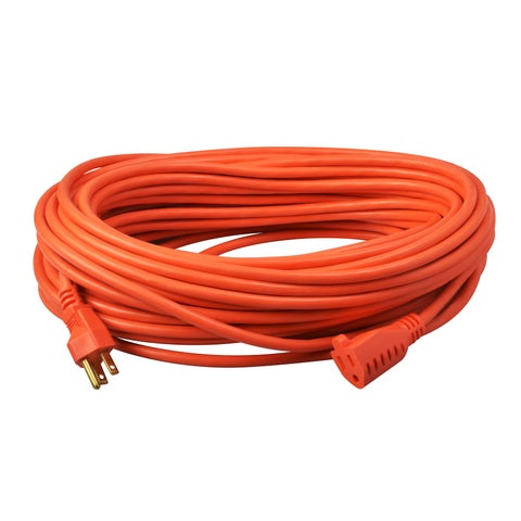 100' SJTW Orange Extension Cord