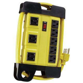 Eight (8) Outlet 6' Metal WS Power Block