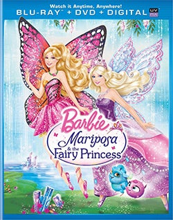 Barbie Mariposa & the Fairy Princess (Blu-ray/DVD)