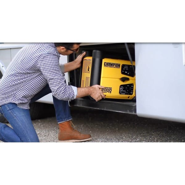 Shop Champion 2000-Watt Stackable Portable Inverter