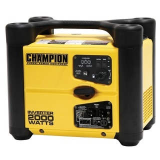 Champion Power Equipment 73536i Portable and Parallelable Inverter 1,700/2,000 Watt Generator