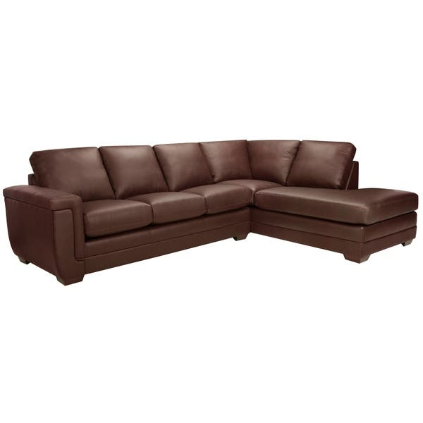 Fine Shop Porsche Top Grain Italian Leather Sectional Sofa 36 5 Gmtry Best Dining Table And Chair Ideas Images Gmtryco