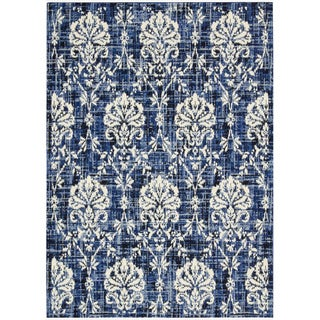 Barclay Butera Kaleidoscope Chambray Area Rug by Nourison (9'6 x 13')