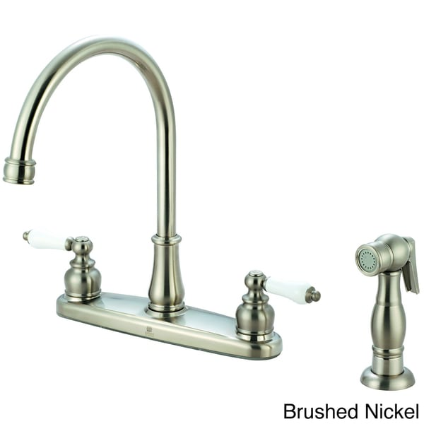 Pioneer Brentwood Series Two Handle Chrome Finished Kitchen Faucet