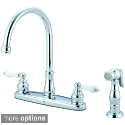 Pioneer Brentwood Series Two-Handle Chrome-Finished Kitchen Faucet