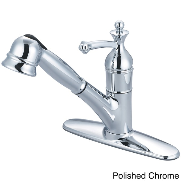 Pioneer Bellaire Series Single Handle Pull-Out Kitchen Faucet