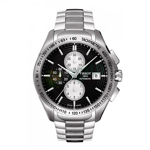 Tissot Men's T0244271105100 'Veloci-T' Black Automatic Watch