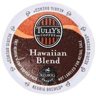 Tully's Coffee Hawaiian Blend K-Cups for Keurig Brewers