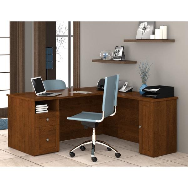 Bestar 'Mason' L-shaped Workstation Desk