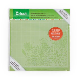 Cricut Adhesive Green 12-inch x12-inch Cutting Mats (Set of 2)