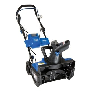 Snow Joe iON Cordless Single Stage Snow Thrower with Rechargeable EcoSharp 40-Volt Lithium-ion Battery - Blue