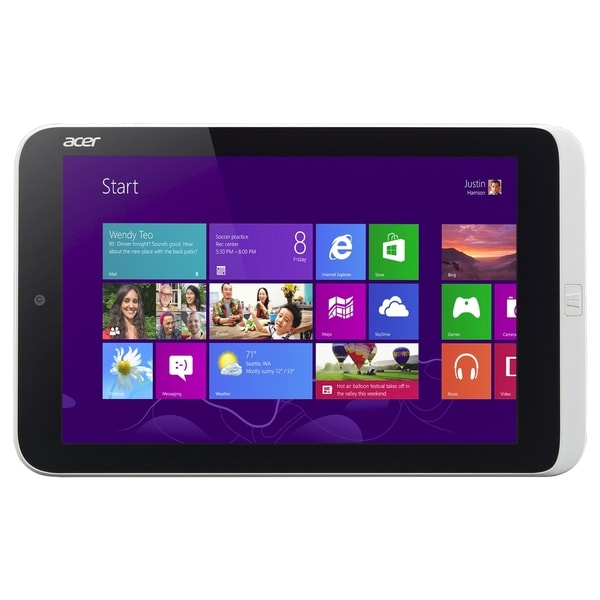 "Acer ICONIA W3-810-27602G03nsw 32 GB Net-tablet PC - 8.1"" - Intel Ato"