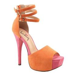 Women's Luichiny Joe Lynn Light Orange/Coral Imi Suede