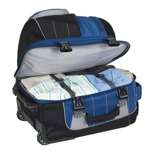 High Sierra Carry-On Wheeled Backpack with Removable Daypack Blue ...
