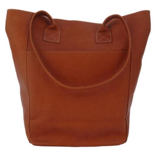 Women's Piel Leather XL Shopping Bag 7067 Saddle Leather