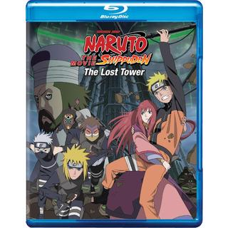 Naruto Shippuden The Movie: The Lost Tower (Blu-ray Disc)
